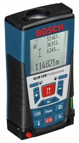BOSCH Distanziometro Misuratore laser GLM 150 Professional