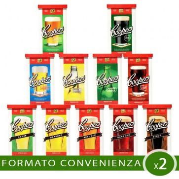 Malto Birra Artigianale 2 PEZZI Coopers Internazionale-Classica A SCELTA
