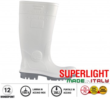 Scarpe antinfortunistiche Cofra GALAXY S5 taglie dal 35 al 48  Linea SUPERLIGHT