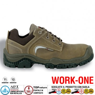 Scarpa Antinfortunistica Cofra GRENOBLE S3 SRC WORK-ONE