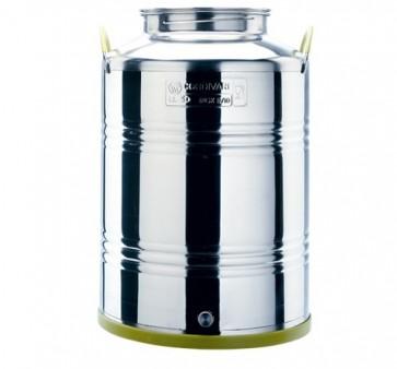 Cordivari Jolly Contenitore in acciaio Inox 75 LT per olio