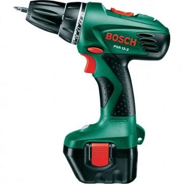 Trapano Avvitatore a batteria Bosch PSR 12-2 Hobby batteria e valigetta + set 46 pezzi