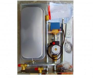 Italia Camini-Edilkamin Caminetto-Termostufa Kit 5 vaso chiuso produzione istantanea acqua sanitaria