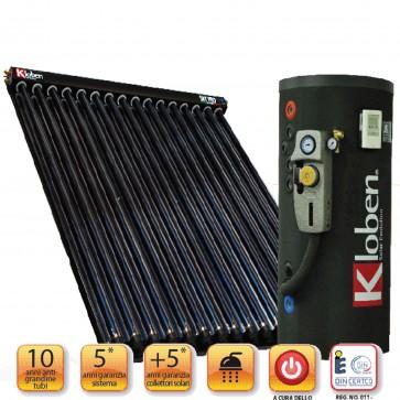 Pannello solare KLOBEN FAMILY ADVANCED 150 200 300 500 litri