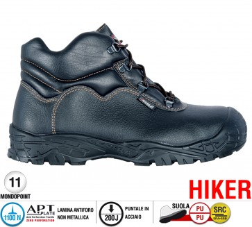Scarpe antinfortunistiche Cofra LEVEL UK S3 SRC taglie dal 40 al 48  Linea HIKER