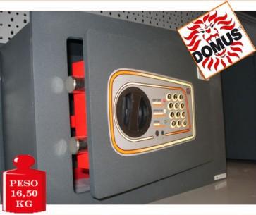 CASSAFORTE A MURO BLINDATA COMBINAZIONE NUMERICA ELETTRONICA DOMUS DL/3 ITALIANA 280x380x200 mm