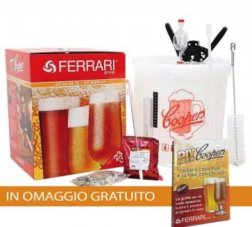 Kit Birra Artigianale COOPERS ECO LUSSO + GUIDA BIRRA FOTOGRAFICA STEPbySTEP