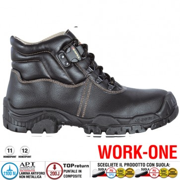 Scarpa Antinfortunistica Cofra MARNE S3 SRC WORK-ONE