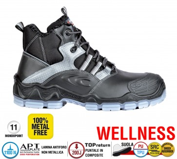 Scarpa Antinfortunistica Cofra MODIGLIANI S3 SRC WELLNESS