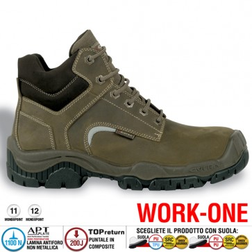 Scarpa Antinfortunistica Cofra MONTPELLIER S3 SRC WORK -ONE