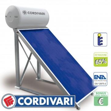 Pannello solare tetti piani CORDIVARI Natural 300/4 TP 200L