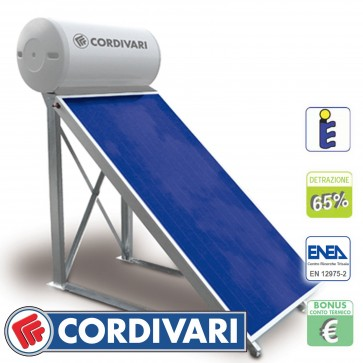 Pannello solare tetti piani CORDIVARI Natural 150/2 TP 150L