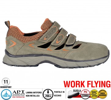 Scarpa Sportive Antinfortunistica Cofra NEW BIG AIR S1 P SRC  WORK FLYING