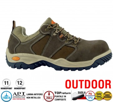 Scarpe antinfortunistiche Cofra BLUES S3 SRC taglie dal 36 al 48  Linea OUTDOOR