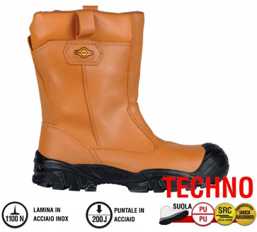 Scarpe antinfortunistiche Cofra NEW TOWER UK S3 SRC taglie dal 41 al 48 Linea TECHNO