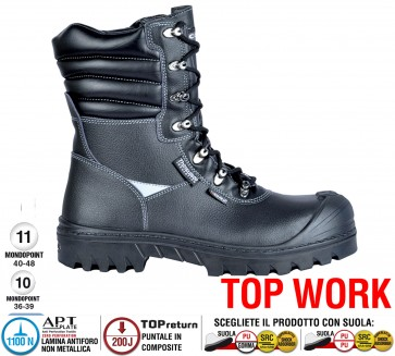 Scarpe antinfortunistiche Cofra NEW CIAD UK S3 CI HRO SRC taglie dal 39 al 48  Linea TOP WORK
