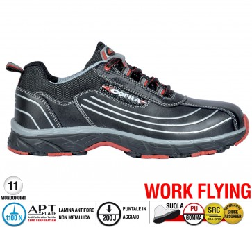 Scarpa Sportive Antinfortunistica Cofra NEW DEVIL S3 SRC WORK FLYING