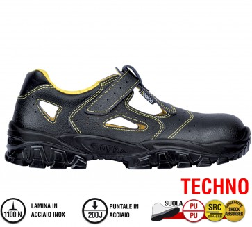Sandali Antinfortunistica Cofra NEW DON S1 P SRC TECHNO scarpe