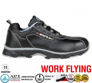 Scarpa Sportive Antinfortunistica Cofra NEW DRAGON S3 SRC WORK FLYING