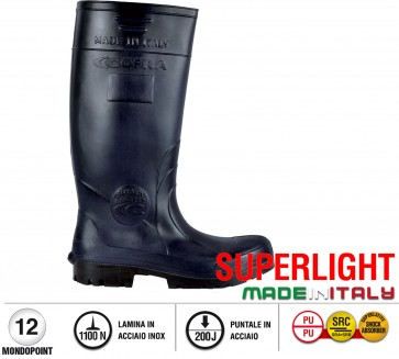 Scarpe antinfortunistiche Cofra FISHER S5 taglie dal 35 al 48  Linea SUPERLIGHT