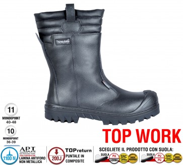 Scarpe antinfortunistiche Cofra NEW MALAWI UK S3 CI HRO SRC taglie dal 39 al 48  Linea TOP WORK