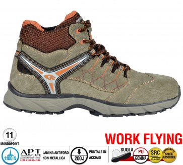 Scarpa Sportive Antinfortunistica Cofra NEW MISSION S1 P SRC WORK FLYING