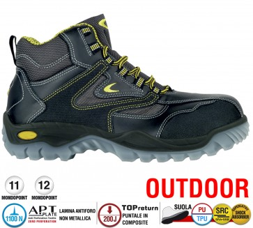 Scarpe antinfortunistiche Cofra NEW ROCK S3 SRC taglie dal 39 al 48  Linea OUTDOOR