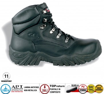 Scarpa Antinfortunistica Cofra ORTLES S3 HRO SRC WORK TREK