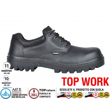 Scarpa lavoro Antinfortunistica Cofra PANAY S3 HRO SRC TOP WORK