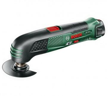 Bosch Utensile multifunzione a batteria (senza batteria e caricabatteria) PMF 10,8 LI batteria 10,8 V Peso 0,9 kg