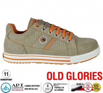 Scarpe antinfortunistiche Cofra POST S1 P SRC taglie dal 39 al 47  Linea OLD GLORIES