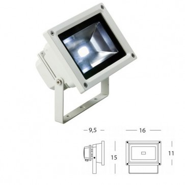 Proiettore Orientabile Art. 479/02 Bianco