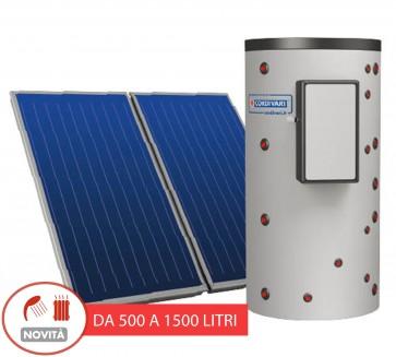 Pannello Solare Cordivari Puffermas 1 CTS da 500 a 1500 L ACS e Riscaldamento