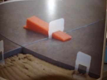 RAIMONDI BASE RLS LEVELLING SYSTEM - Confezione 500 Basi H. 12mm
