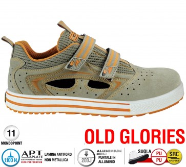 Scarpe antinfortunistiche Cofra REFEREE S1 P SRC taglie dal 39 al 47  Linea OLD GLORIES