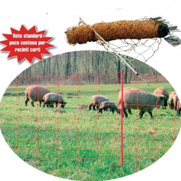 Rete per ovini capre e pecore MILKLINE OVINET 50 metri altezza 108 cm acciaio
