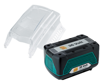 BOSCH BATTERIA AL LITIO ULTRA-POWER 36V 4,5 Ah PER ROTAK 34-37-43 LI