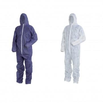 Tuta Lavoro Antifortunistica Cofra Sheer-Pro Bianco 50Pz