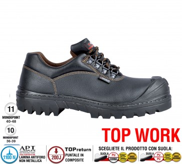 Scarpa lavoro Antinfortunistica Cofra SIBERUT UK S3 HRO SRC TOP WORK