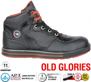 Scarpe antinfortunistiche Cofra TIME OUT S1 P SRC taglie dal 39 al 47  Linea OLD GLORIES
