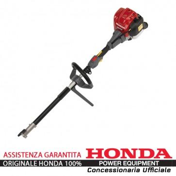 Decespugliatore Multifunzione Versatool Honda UMC 425 25 cc con un'imbracatura monocinghia