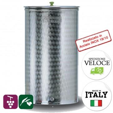 Set Completo Cordivari Vinolio Fondo Piano 300 litri contenitore vino olio miele