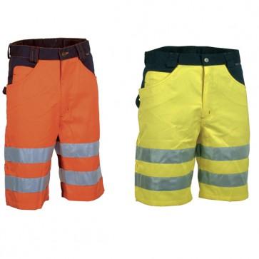 Pantaloncino Lavoro Antifortunistica Cofra Visible Fluo