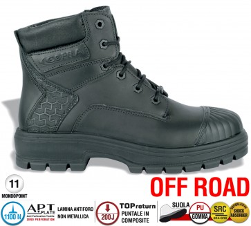 Scarpa Antinfortunistica Cofra WINNIPEG BLACK S3 HRO SRC