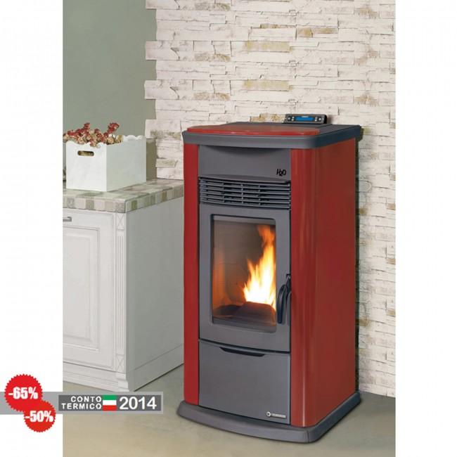 Termostufa pellet thermorossi h2o 18 easy maiolica metalcolor for Thermorossi h2o 18 prezzo