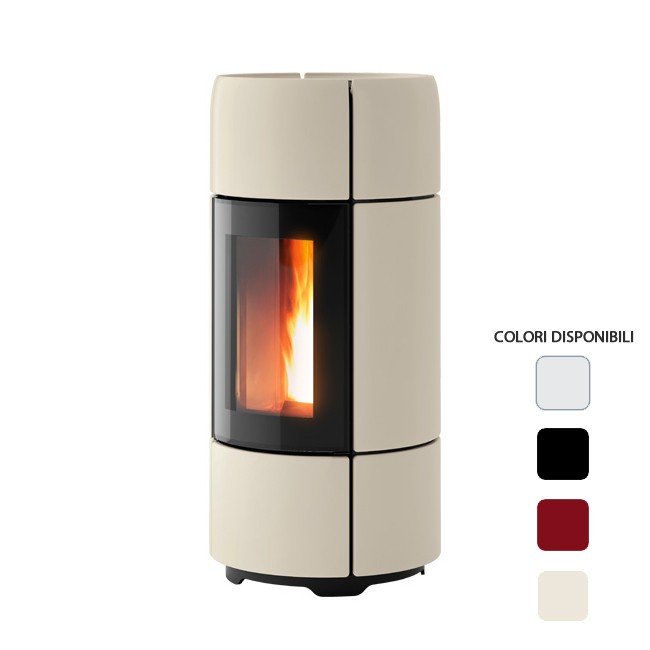 a Pellet ad Aria 8 kW MCZ CURVE Comfort Air Canalizzabile