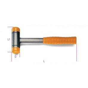 Beta mazzuole antirimbalzo con battenti intercambiabili in materiale plastico manico in acciaio 1392
