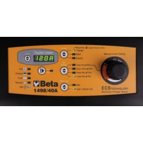 Beta ?Caricabatterie avviatore multifunzione 12-24V carrellato 1498/40A