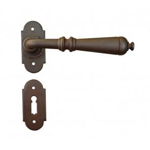 Maniglia Classica per Porta in ferro battuto Galbusera Art.2698 Ruggine