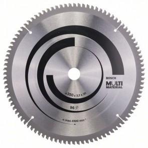 Bosch Lama per seghe circolari Multi Material 350 x 30 x 3,2 mm, 96